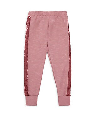 dfb258826 Joah Love - Baby Girl s Cassidy Two Piece Velour Top   Pants Set ...