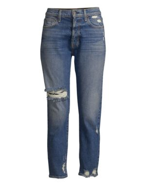 Amazing High Rise Distressed Button Fly Jeans, Shaken Not Stirred