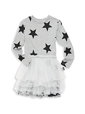 4944dfde1c Nununu - Baby Girl's, Little Girl's & Girl's Star Tulle Dress - saks.com