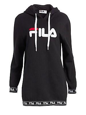 3366fcc20512 FILA - Karena Logo Fleece Hoodie - saks.com