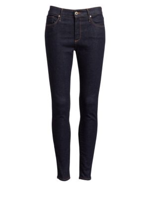 AG Jodi High-Rise Cropped Flare-Leg Jeans, 7 Years Visceral