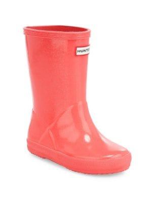 Kid S Glitter Rain Boots