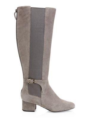 8f18c20b77a Cole Haan - Idina Stretch Leather Riding Boots - saks.com