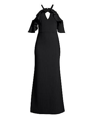 da48c1931a Trina Turk - Lauren Cold-Shoulder Ruffle Dress - saks.com