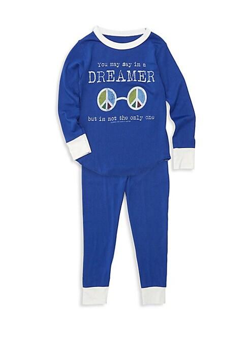 Baby Boys Little Boys  Boys TwoPiece Dreamer Bamboo Pajama Set