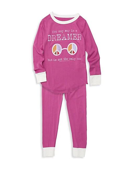 Baby Girls Little Girls  Girls TwoPiece Dreamer Bamboo Pajama Set