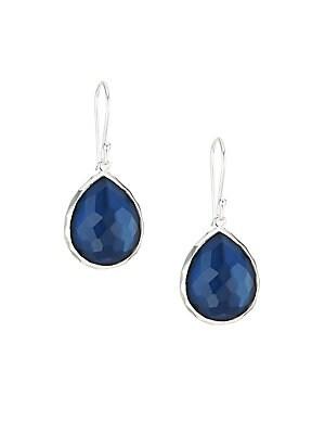 Ippolita 925 Wonderland Sterling Silver Teardrop Earrings Br