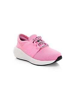 low priced 91552 0f638 New Balance. Baby s   Little Girl s Mixed Media Sneakers