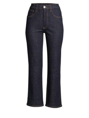 3x1 Joni Kick Flare Cropped Jeans