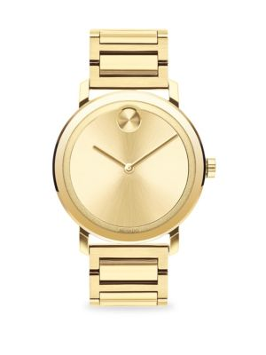 9dceb9a1a Versace - Glaze Gold Ion-Plated Stainless Steel Bracelet Watch ...