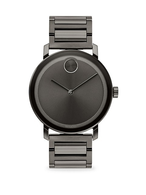 BOLD Evolution Gunmetal Ion-Plated Stainless Steel Bracelet Watch