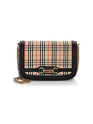 893a5fd377e5 Burberry - Hampshire Vintage Check Bonded Leather Convertible Wallet ...