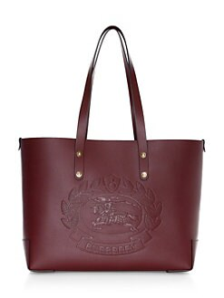 1041650f644f QUICK VIEW. Burberry. Embossed Crest Leather Tote