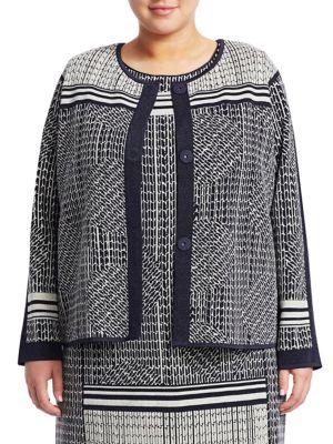 NIC+ZOE, Plus Size Forefront Jacket