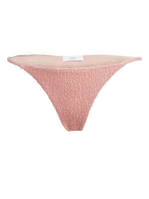 Onia Rochelle Low-Rise Bikini Bottoms