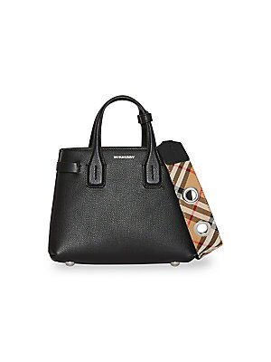 Baby Banner Leather Bag by Burberry