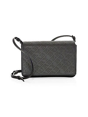 61913dcdfcae Burberry - Hampshire Perforated Leather Crossbody - saks.com