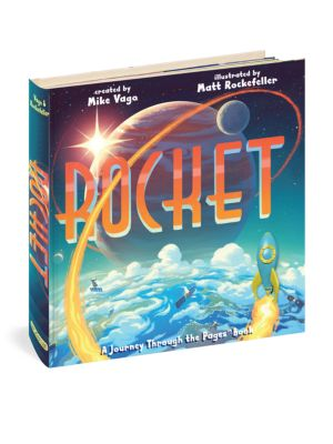 Workman Publishing Rocket A Journey Through The Pages Book