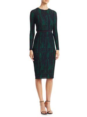 Etizia Sheath Dress by Boss