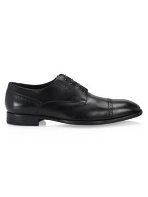 Ermenegildo Zegna Derby Leather Dress Shoes