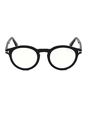 04852b7329 Tom Ford - 54MM Square Eyeglasses - saks.com