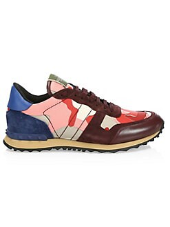 32e38aa670772 Rockrunner Camouflage Sneaker RUBIN RED MULTI. QUICK VIEW. Product image.  QUICK VIEW. Valentino Garavani