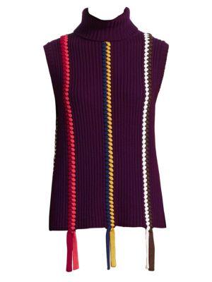 0649ba25dbc Zoë Jordan - Perey Cold-Shoulder Turtleneck Sweater - saks.com