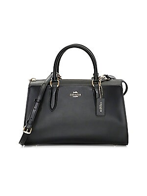 Coach Bond Refined Leather Satchel