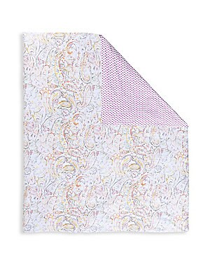 "Image of Anahita is a luxe printed sateen design that is a contemporary update on a stylized paisley. Long-staple combed cotton Machine wash Imported SIZE King: 105""W x 93""W Queen: 89"" x 93""W. Gifts - Bed And Bath. Anne De Solène. Size: King."
