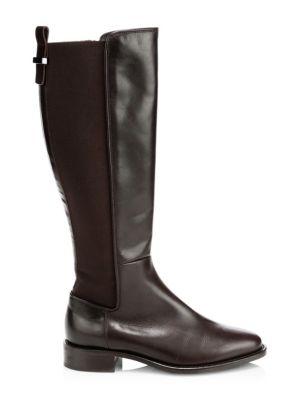 236407184 Aquatalia Nastia Leather Knee-High Boots
