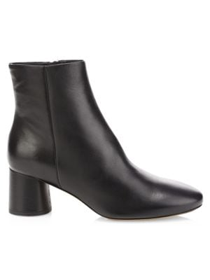 Tillie Leather Booties by Vince