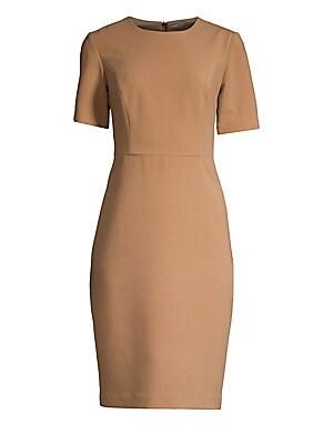 3880411b Trina Turk - Diamante Cap Sleeve Sheath Dress - saks.com