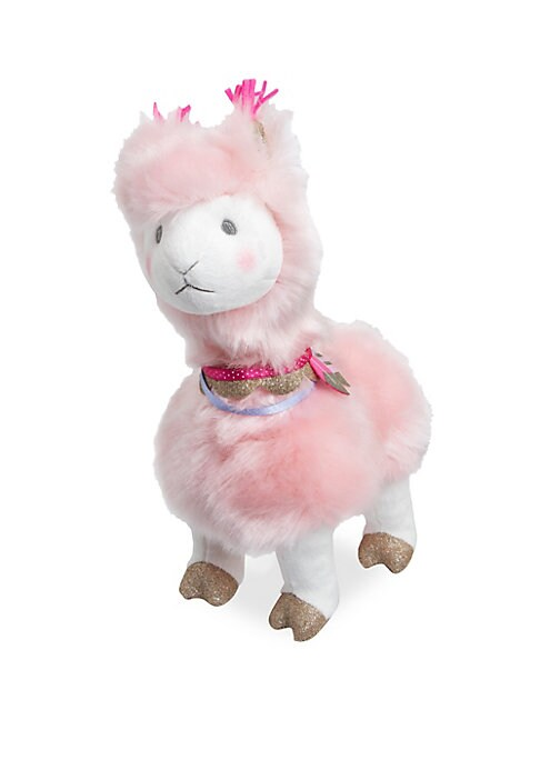 8inch Toy Plush Rose Llama