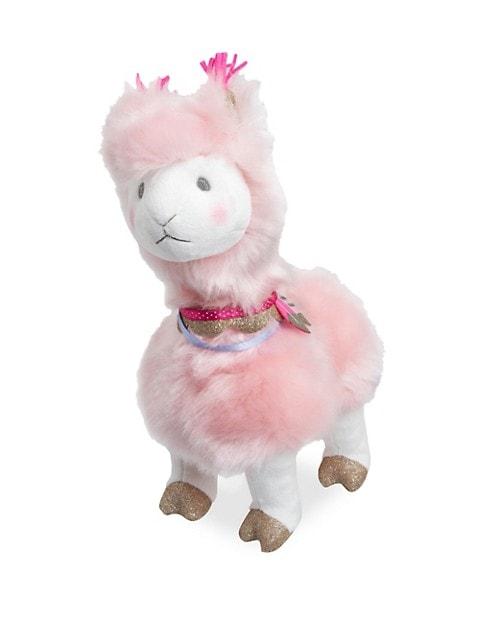 Plush Rose Llama Toy