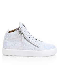 6f625883644a5 Product image. QUICK VIEW. Giuseppe Zanotti. Glitter Double Zip Logo Mid-Top  Sneakers. $695.00 · Low Urchin Leather Sneakers BLACK