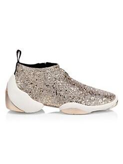QUICK VIEW. Giuseppe Zanotti. Lightjump Logo Glitter Sneakers 72393324ba