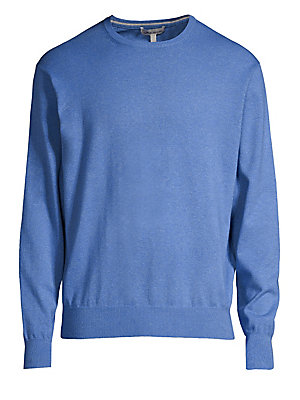 9efa204e1 Peter Millar - Crown Soft Merino Wool   Silk Sweater - saks.com