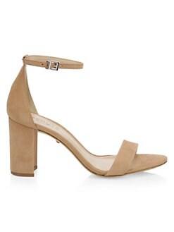 c7ae8b679d5 QUICK VIEW. Schutz. Anna Lee Nubuck Ankle Strap Sandals