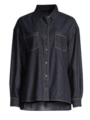 3x1 Joni Denim Button-Down Shirt