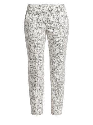 Frankie Straight Leg Pastina Print Pants by Akris Punto