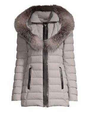 Mackage Kadalina X Fox Fur Trim Down Jacket