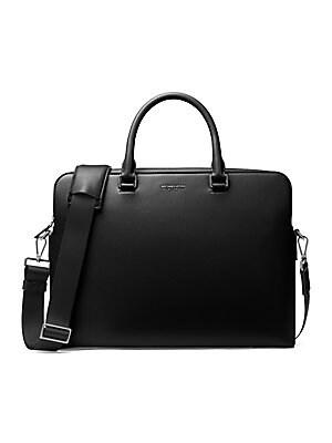 32c5322bf498 Michael Kors - Harrison Leather Briefcase - saks.com
