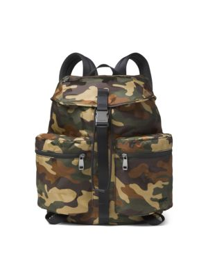 MICHAEL KORS Kent Sport Zip Camo Backpack