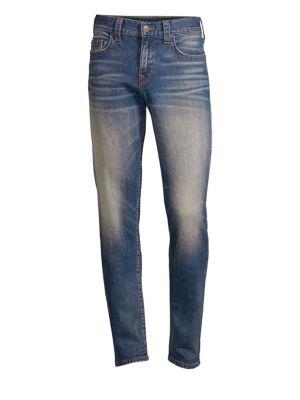 TRUE RELIGION Geno Jetset Straight Jeans
