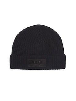 John Varvatos Star U.S.A. - Merino Wool Knit Hat f09b35b21ccd