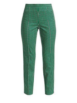 Franca Micro Scallop Print Pants by Akris Punto