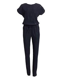 edfecd59bf0f Akris punto. Sequin Jumpsuit