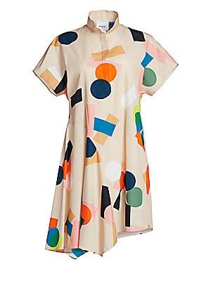 Memphis Belair Print Dress by Akris Punto
