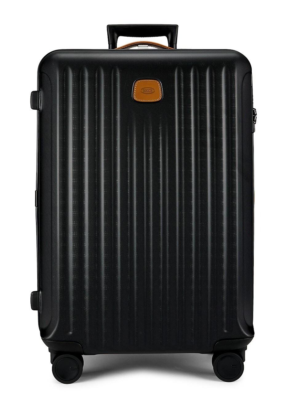 Bric's Men's Capri 27-inch Spinner Expandable Luggage In Mette Black
