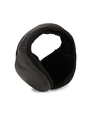 Black Wrap-Around behind Head Style Ear Muffs